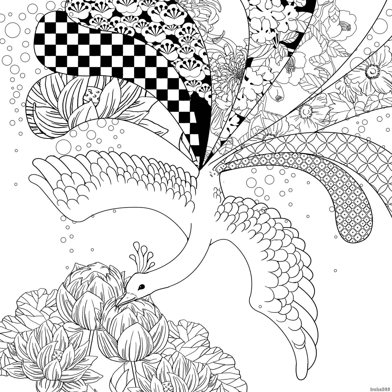 Japanese Coloring Book Japanese Literature Paperback Japan ...