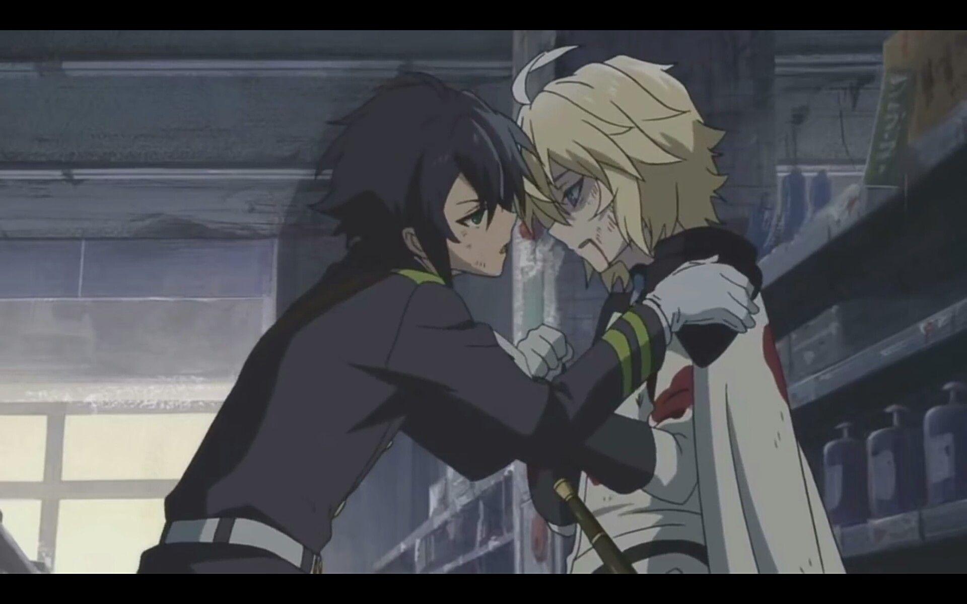 ضرورب مهم Anime, Owari no seraph, Anime boyfriend