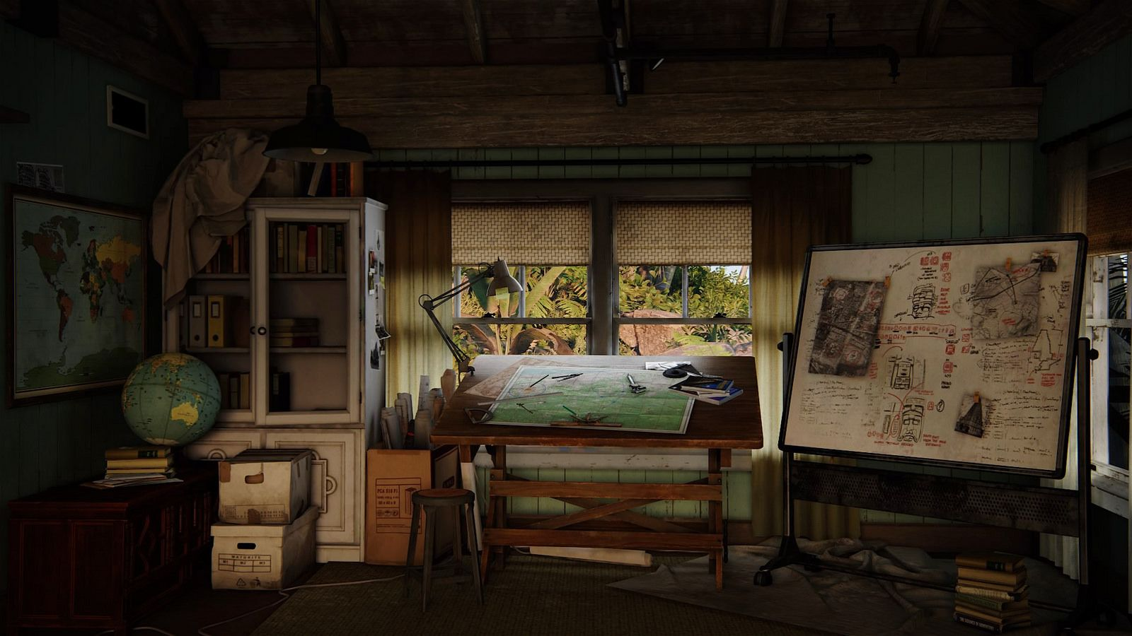 Rustic Attic Game Room