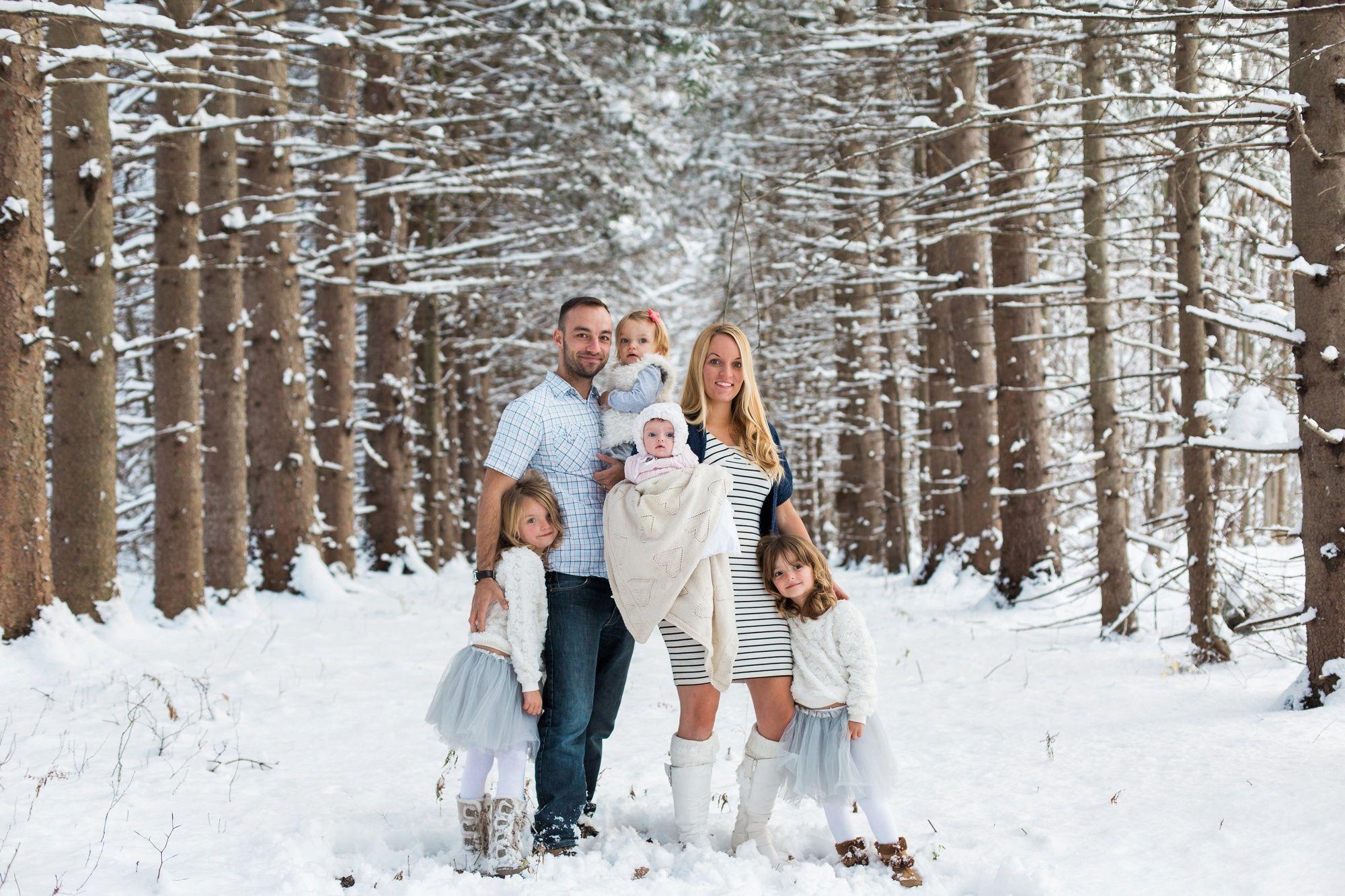 журнал идеи для фотосессии семьей зимой получил