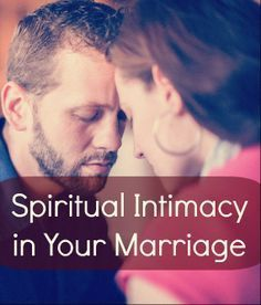 Spiritual intimacy in a dating relationship