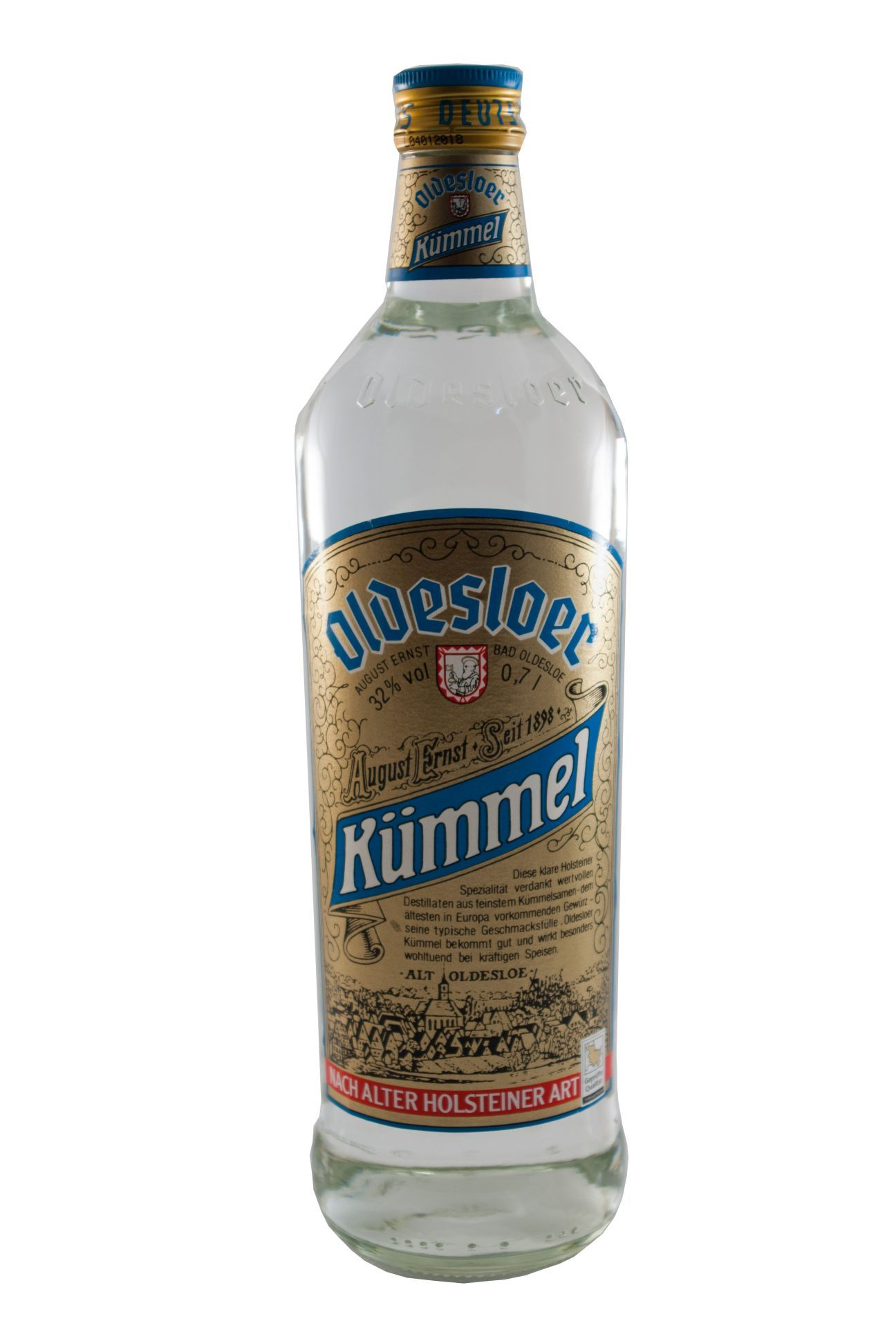 Oldesloer Kümmel Schnaps / 32% vol (0,7L) | Spirits | Pinterest ...