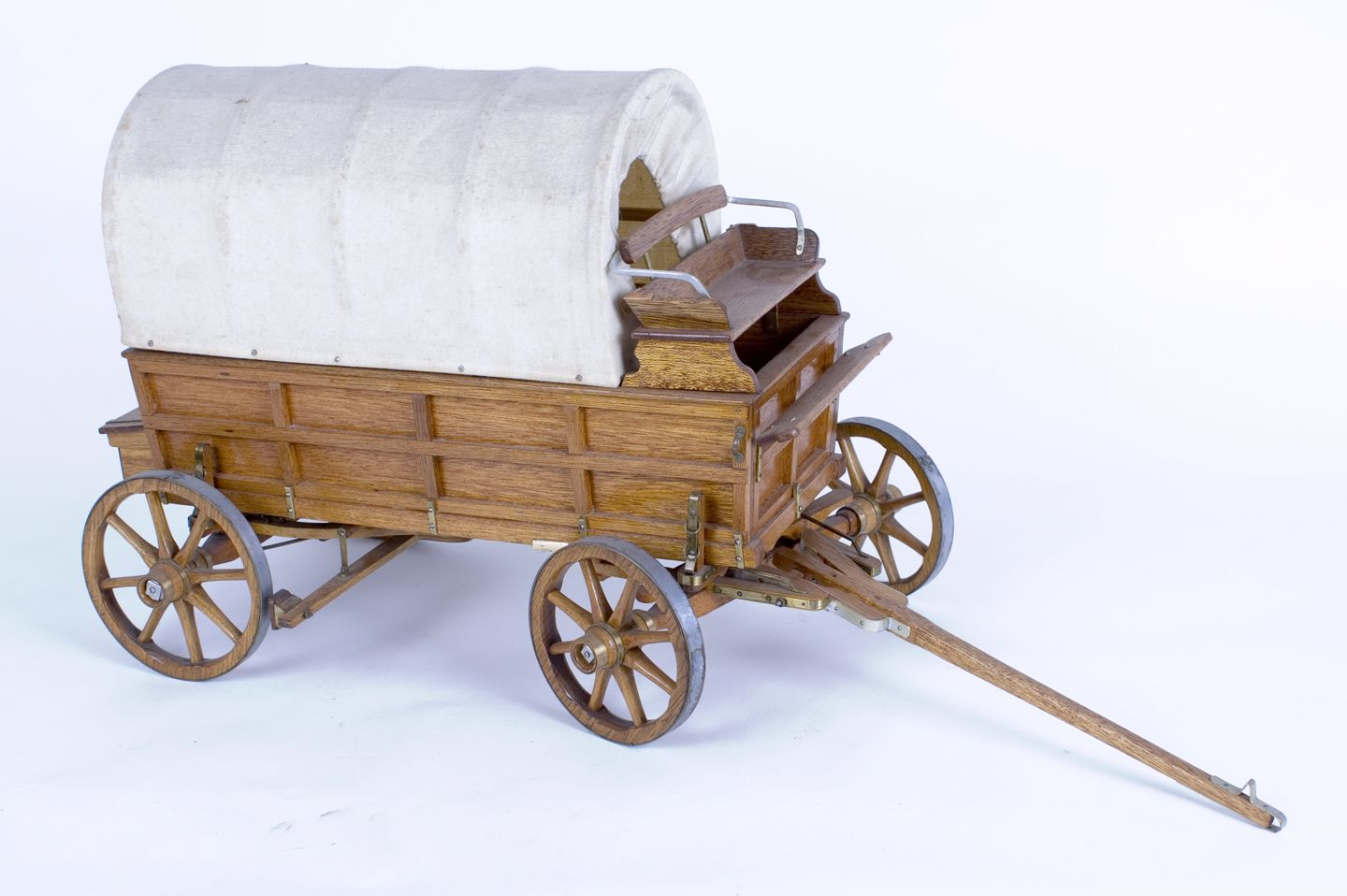 A Covered Wagon Project for a Child to Make thumbnail - made from a ...