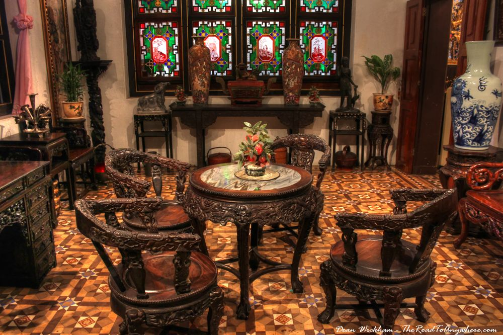 Todays Travel Photo Is Of Some Antique Furniture Inside Pinang Peranakan Mansion In George Town Malaysia Was Built By Chung Keng