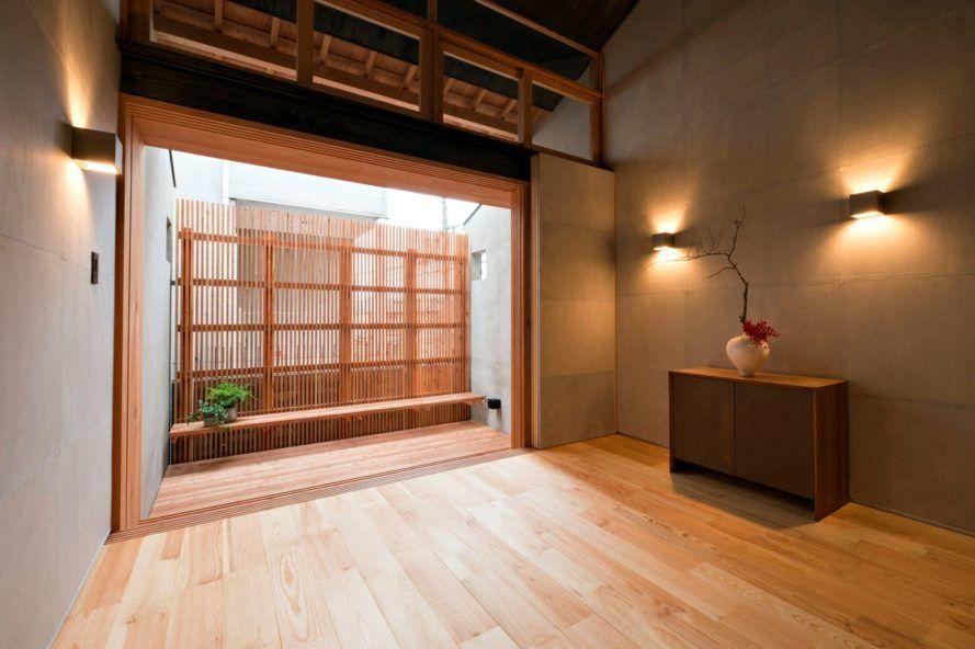 Post war house interior design