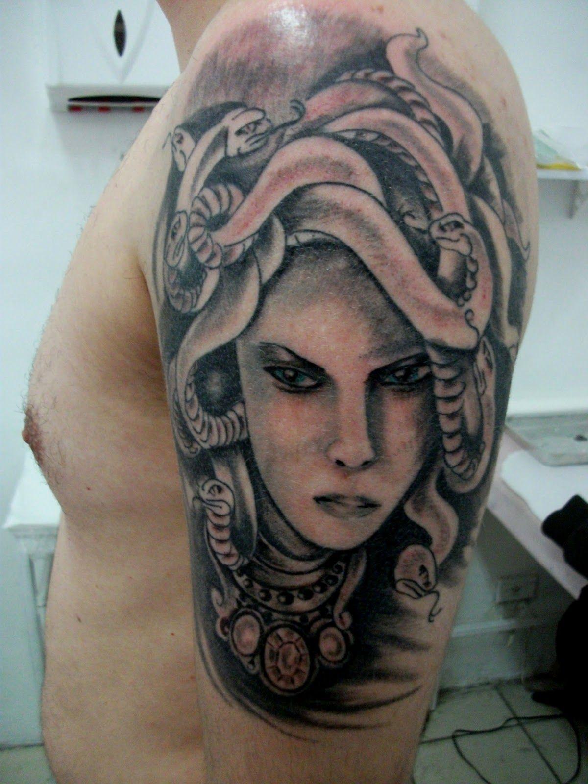 Medusa Artwork Tattoo: Medusa Tattoo Design, Medusa