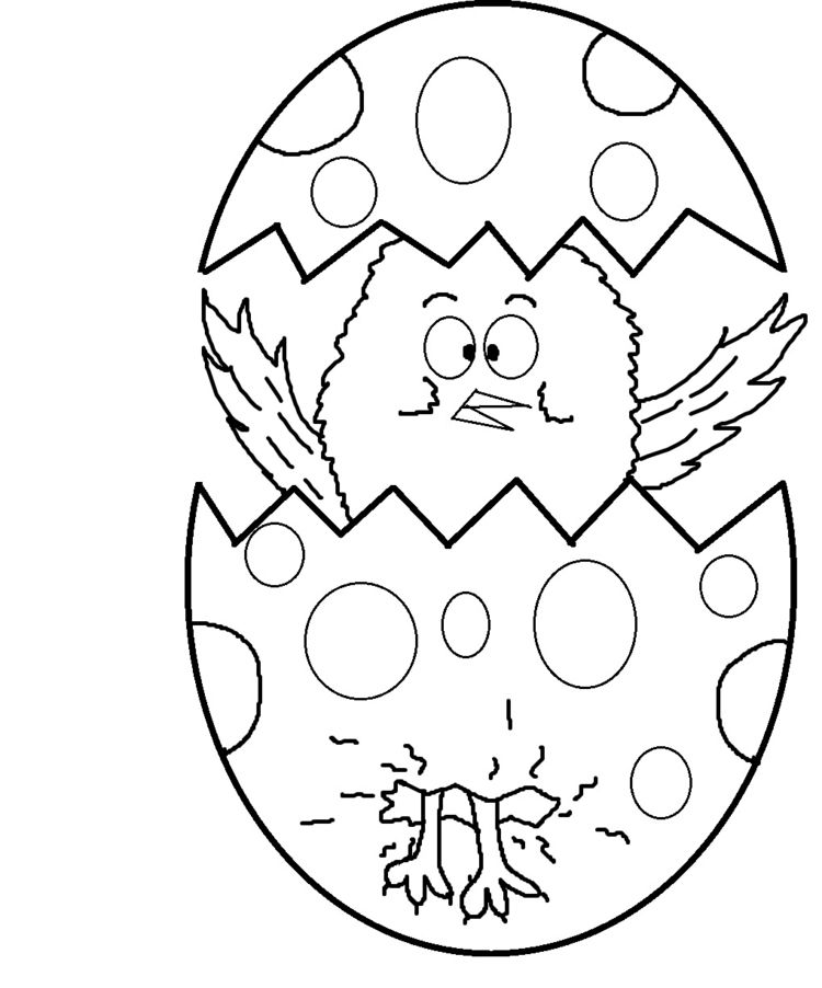 Ausmalbilder kostenlos ausdrucken - Malvorlagen zu Ostern