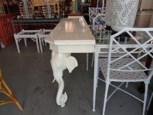 Vintage Elephant Console Table httpbenchforuminfo Pinterest