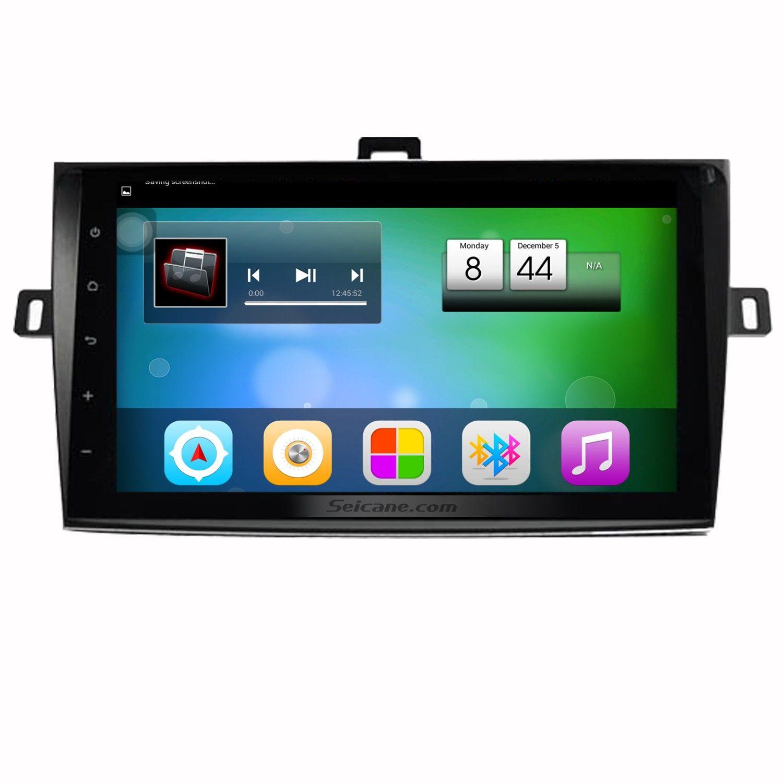 Seicane 9 Inch Hd 1024 600 Android 6 0 2007 2013 Toyota Corolla Radio Touchscreen Gps Bluetooth Car Stereo 1080p Vid Bluetooth Car Stereo Digital Tv Car Stereo