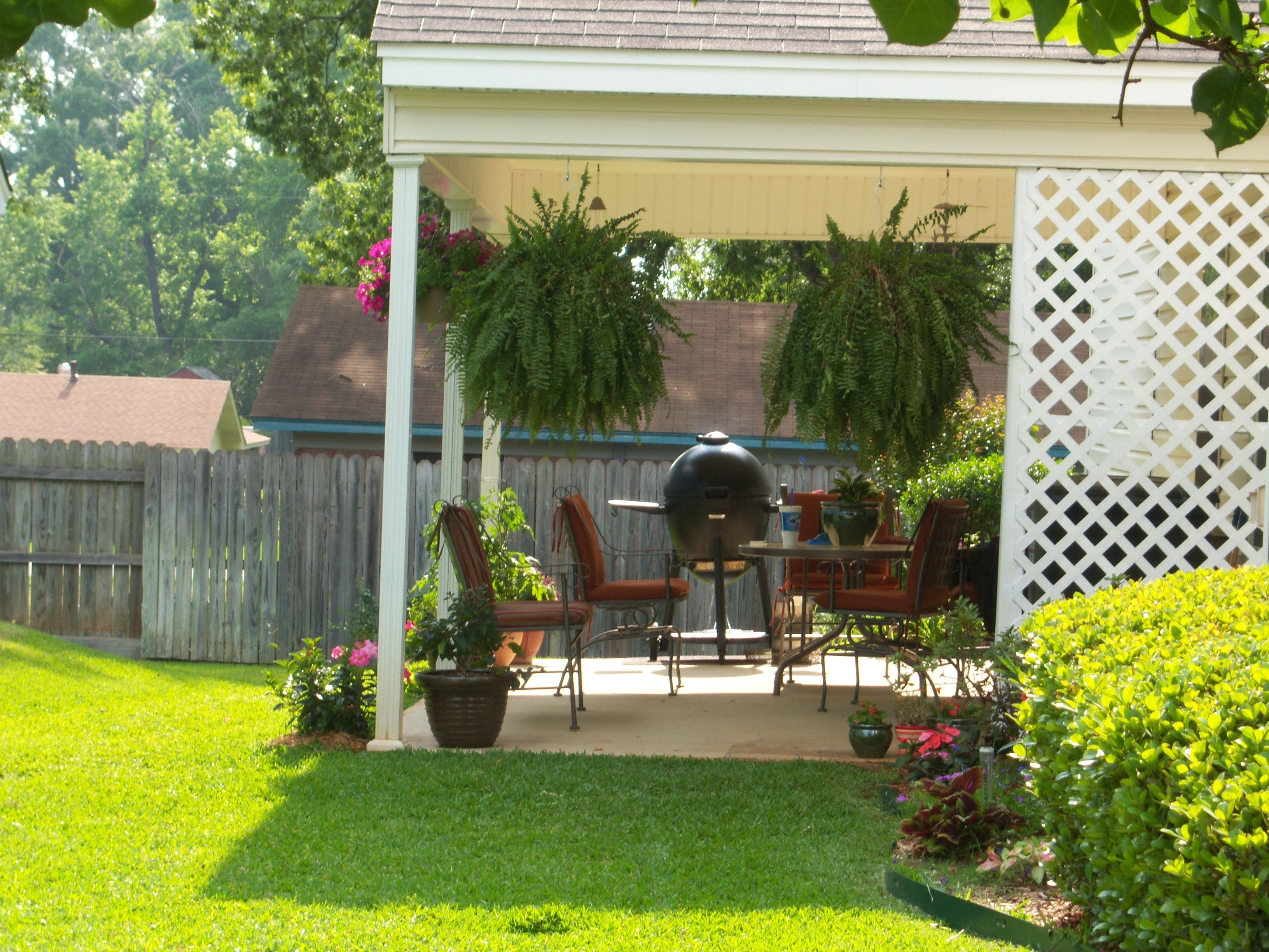 small patio but we love it our little house pinterest smallsmall patio but we love it small patio, little houses, our love, tiny