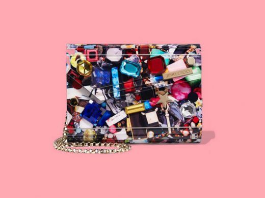 Current Obsession: Jimmy Choo Candy Embellished Printed Clutch