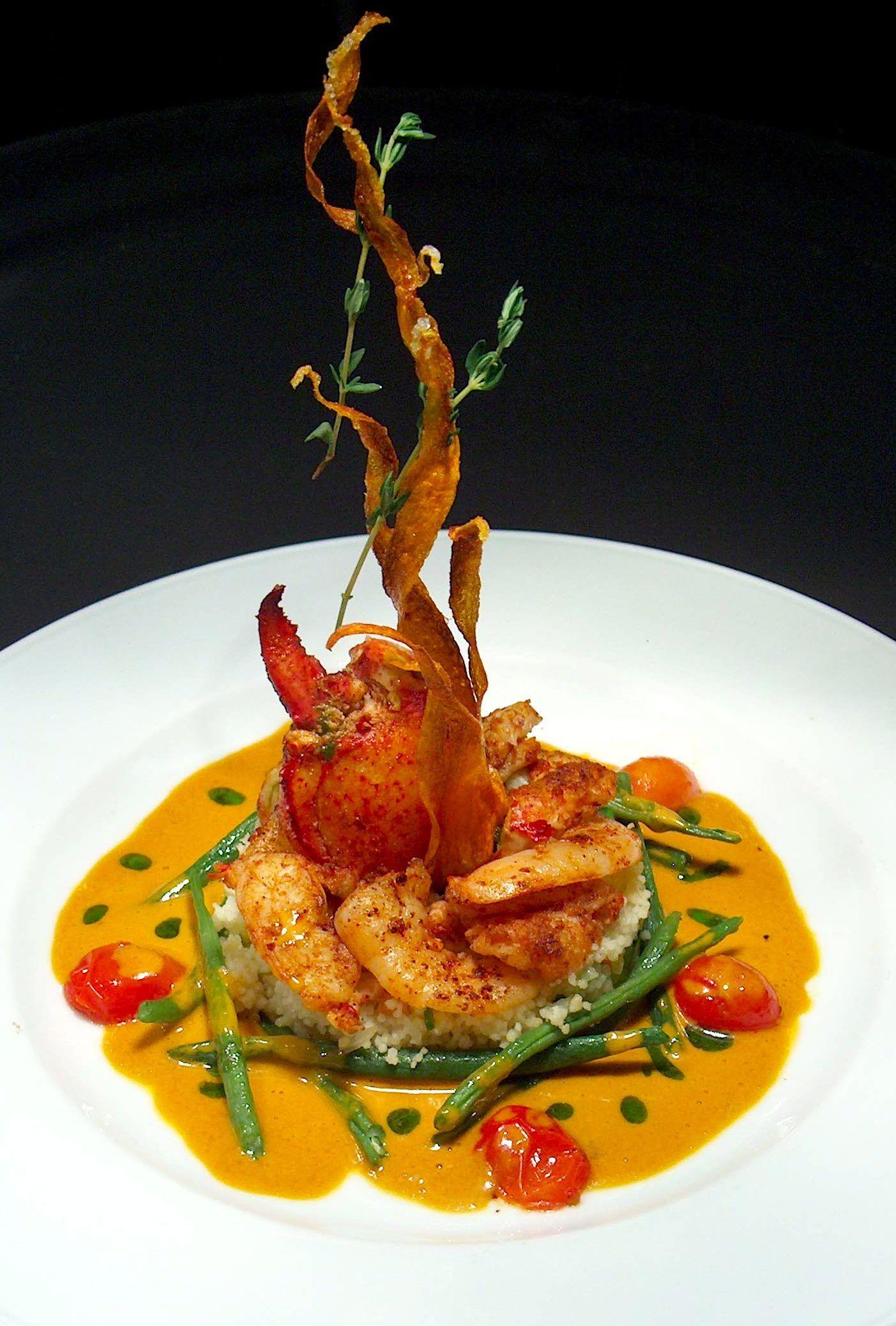 Grilled Rock Lobster Tails   Food presentation, Food ...