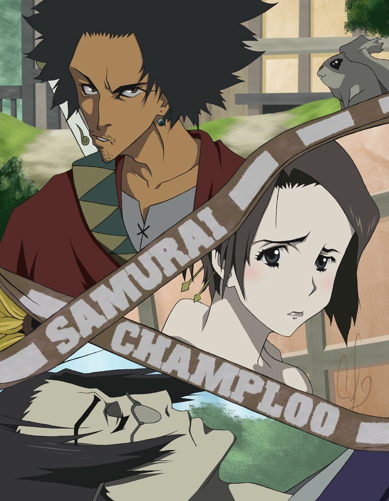 Samurai Champloo Trio by coreymill on DeviantArt