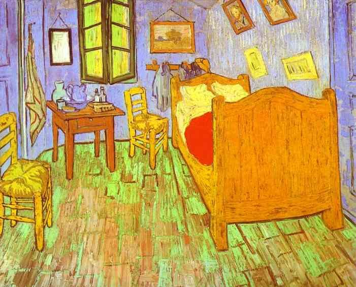vincent van gogh paintings | Bed room Vincent Van Gogh Painting ...