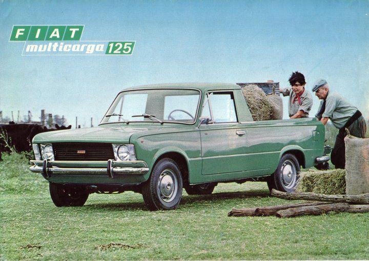 Najnowsze Fiat 125 pick-up   Alfa Romeo classic cars   Fiat cars, Cars RN65