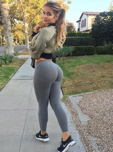 El mejor culo regresa en jeans y calzas - 3 part 6