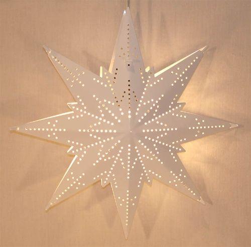 Swedish Window Light Mini White Scandinavian Christmas Decorations Swedish Decor Star Diy