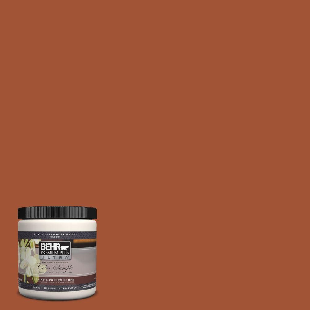 Behr Premium Plus Ultra 8 Oz S H 230 Ground Nutmeg Interior Exterior Paint Sample Exterior Paint Behr Behr Ultra