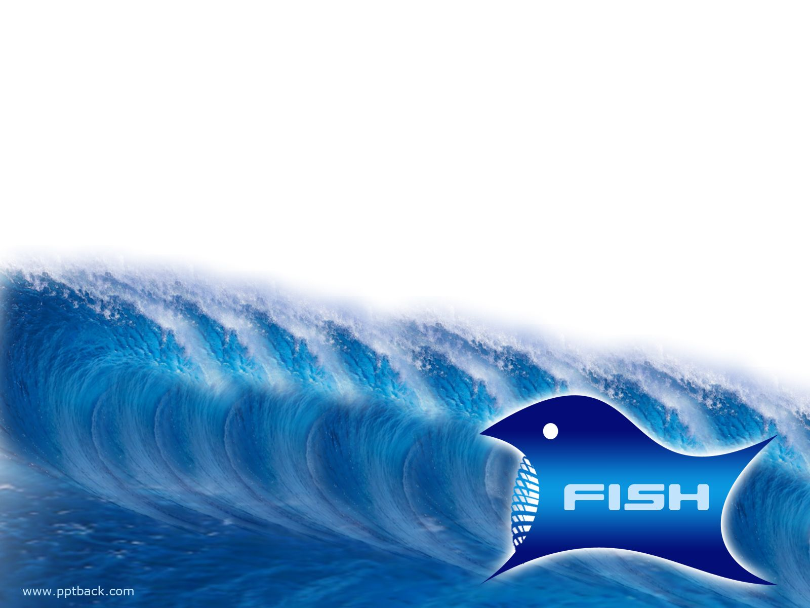 Floating Fish Ppt Backgorunds  Animal Ppt Backgrounds