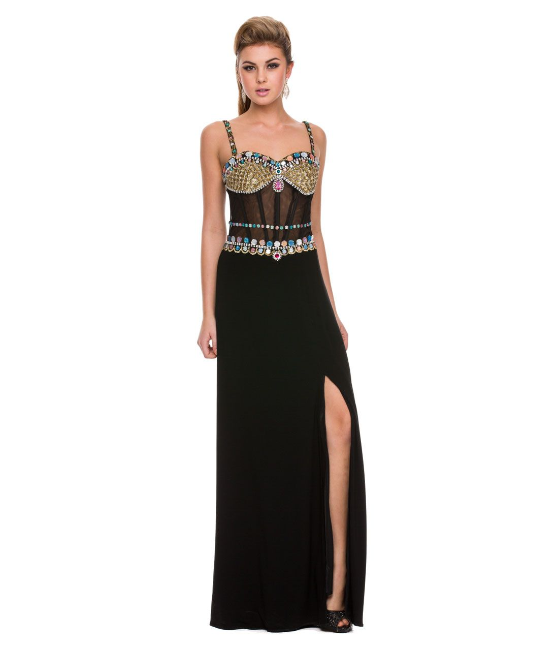 egyptian prom dresses