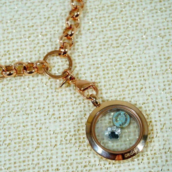 Origami Owl Jewelry   Rose Gold Locket Necklace Charms   Poshmark   720x720