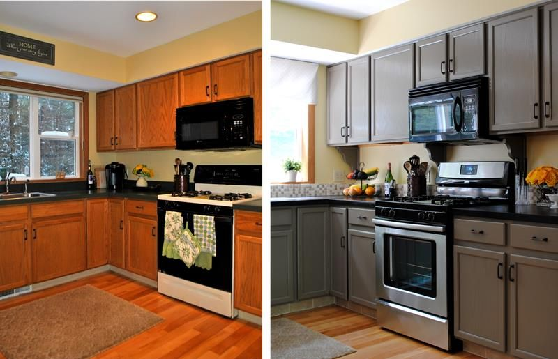 Best 20 Pictures Of Before And After Kitchen Makeovers With 400 x 300
