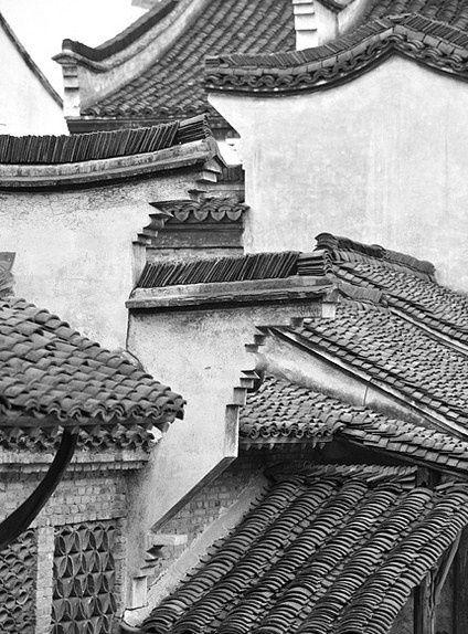 Wuzhen Rooftops Zhejiang China China Photo China Asian Architecture Chinese Architecture China Image