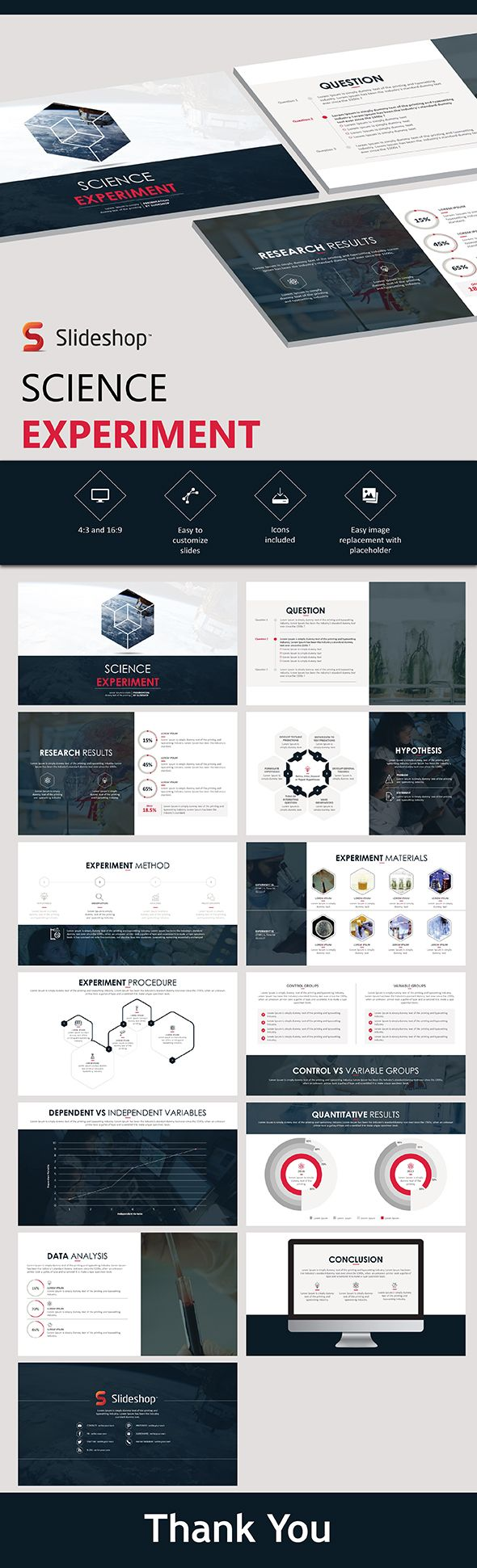 science experiment powerpoint template powerpoint templates