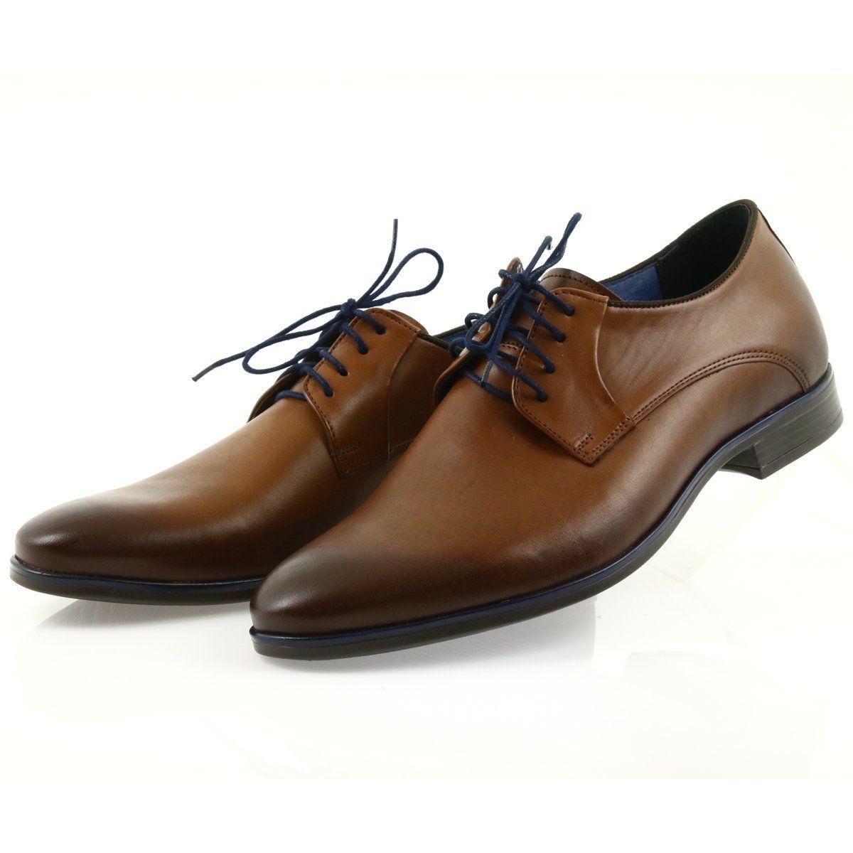 Pantofle Brazowe Meskie Nikopol 1644 Brown Slippers Elegant Shoes Dress Shoes Men