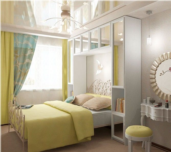 дизайн спальни в хрущевке узкая спальня 8 кв м 12 кв м 160 фото