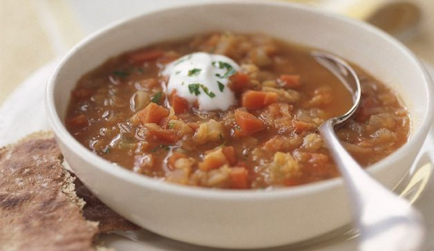 Healthy Recipes With Canned And Dried Beans - Prevention.com--middle eastern red lentil soup