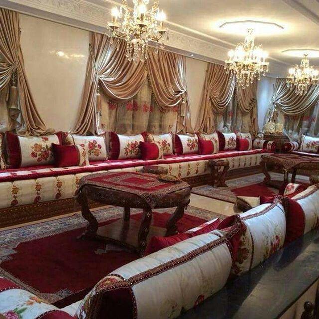 House Interior Decor, Moroccan Living Room