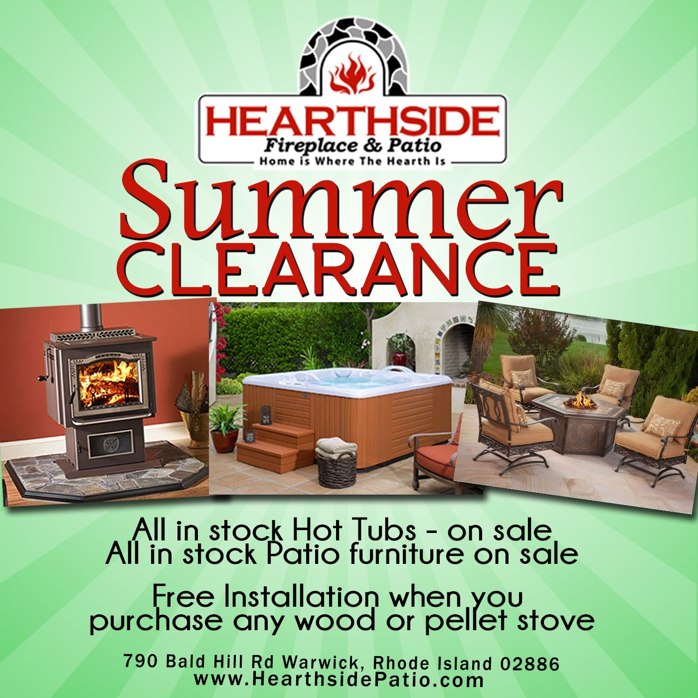 Summer Clearance Sale Going On Now At Hearthside Fireplace U0026 Patio!  #Hearthside_RI Www.