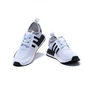 adidas nmd runner white black for women