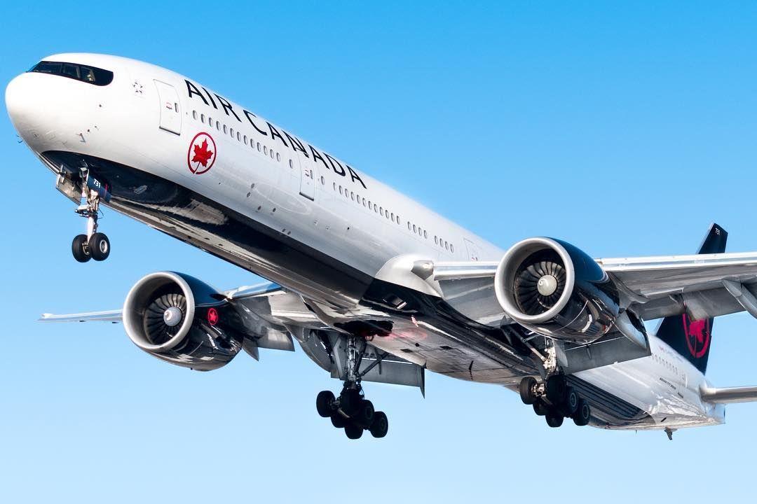 "Derek MacPherson di Instagram ""An @aircanada 777 finishing ..."