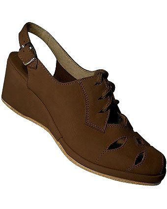 74.95- 74.95 Aris Allen Womens 1940s Brown Nubuck Leather Wedge RugCutter  Swing Dance Shoes with Raw Leather Sole 8.0 US - The Aris Allen Womens  1940s ... 9f711958b5