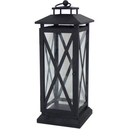 c9c68651715fc6c98cd9c7be728515db - Better Homes And Gardens Crossbar Metal Outdoor Lantern
