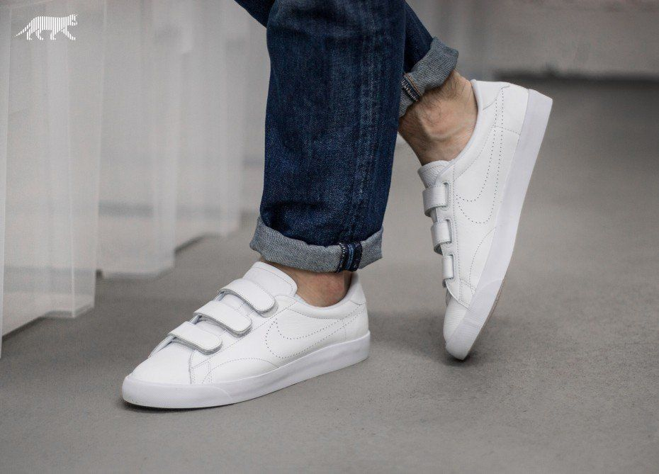 Nike Tennis Classic AC V Summit White  Summit White  Wolf Grey  White
