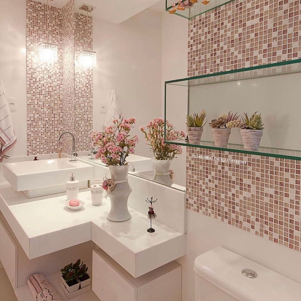 Vanities In Queens Ny Home Art Tile Small Bathroom Decor Bathroom Interior Design Glass Bathroom