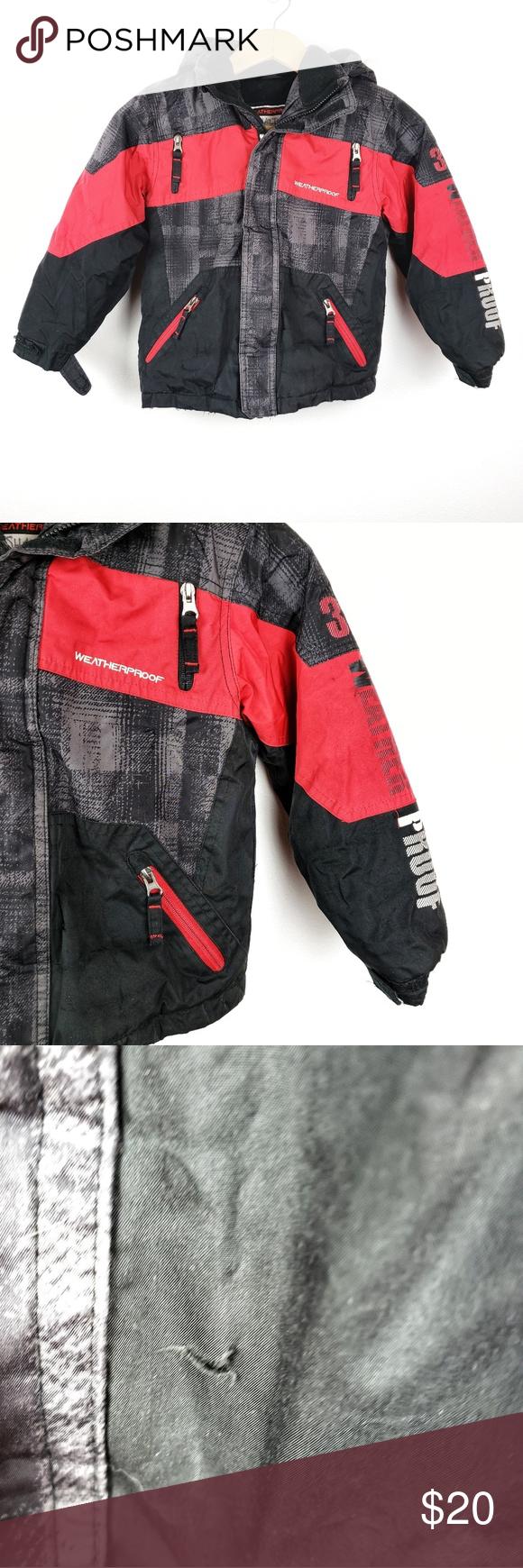 Weatherproof Boys Snow Winter Coat Jacket Size 6 Winter Coats Jackets Winter Coat Winter Coat Snow [ 1740 x 580 Pixel ]