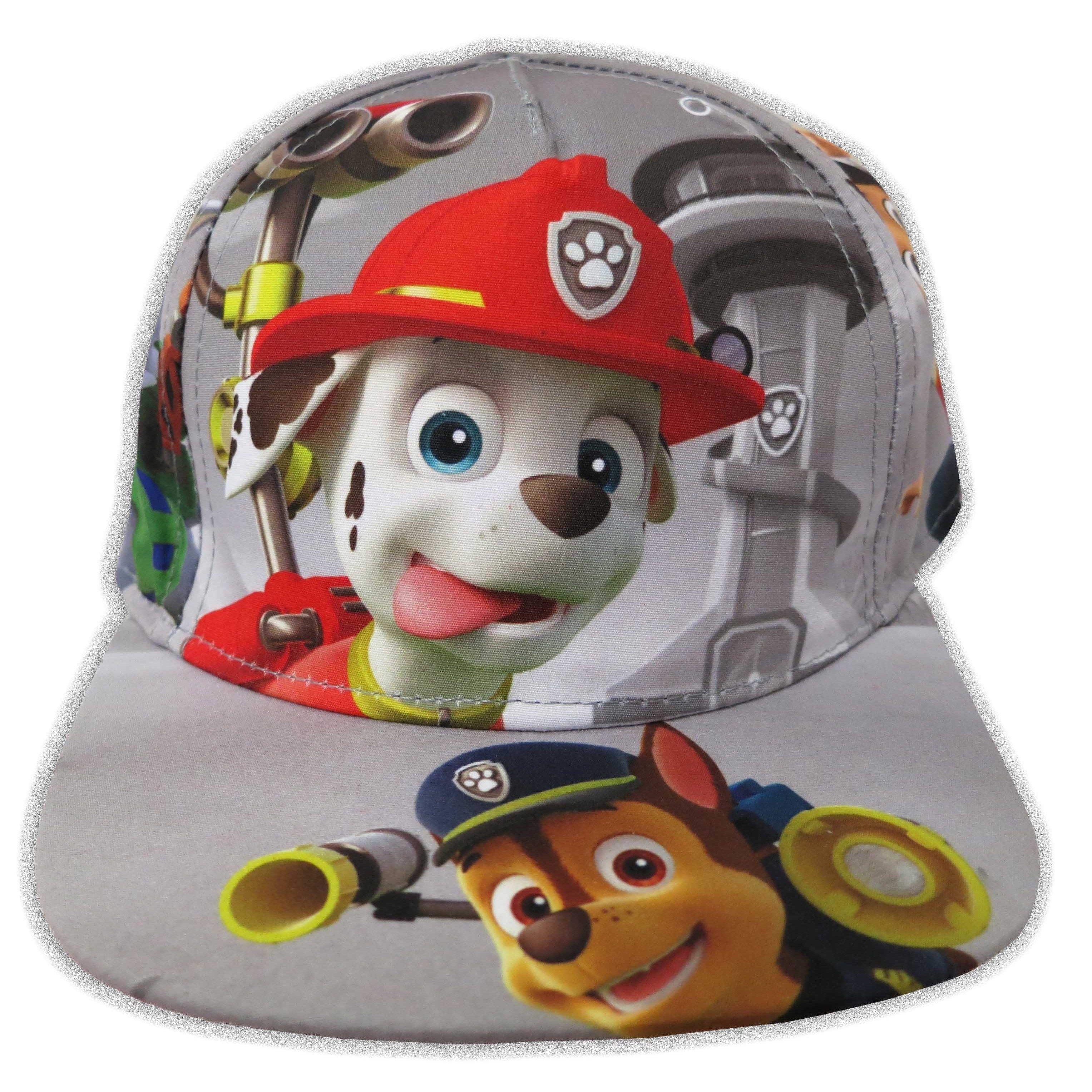7f32ad66c0a Nickelodeon Toddler Boys Paw Patrol Grey Cotton Baseball Cap - One ...