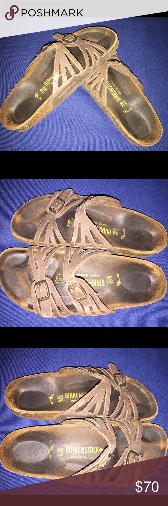 Birkenstock size 38 Gently used Birkenstock Shoes Sandals