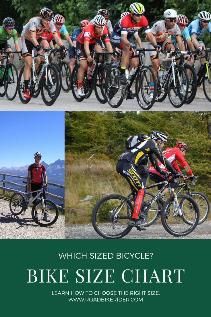 Bike Size Chart How To Choose The Right Sized Bicycle Kids Bike