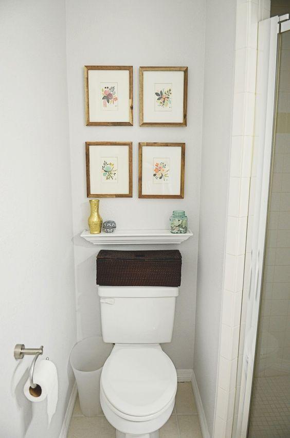 Cuadros para baños vintage, vcuadros para decorar baños ...