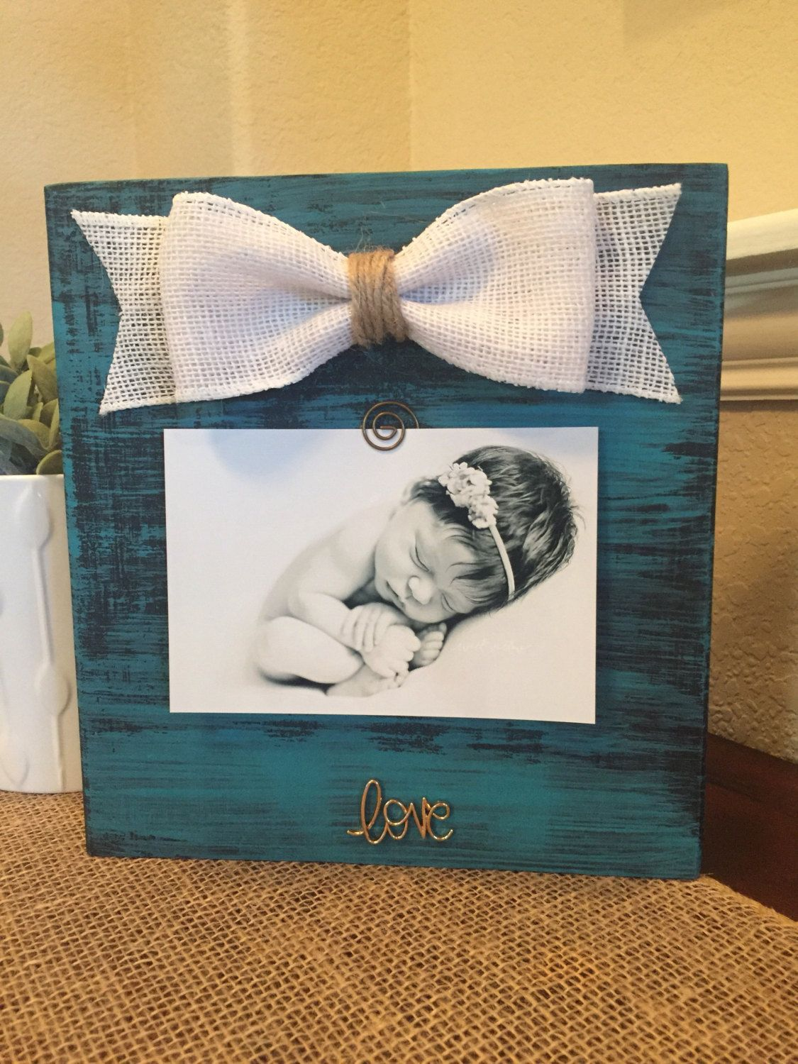 Baby Announcement Grandparents Sign Grandma Custom Picture Frame