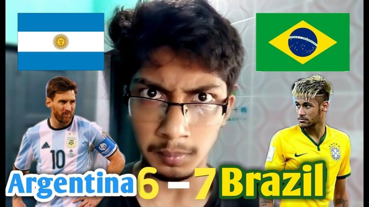 Brazil Vs Argentina Supporters Bangla Funny Video All History Extended Brazil Vs Argentina