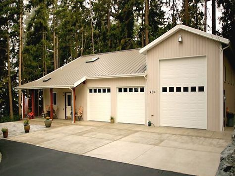 A Spane Buildings post frame home in Snohomish County WA – Post Frame Garage Plans