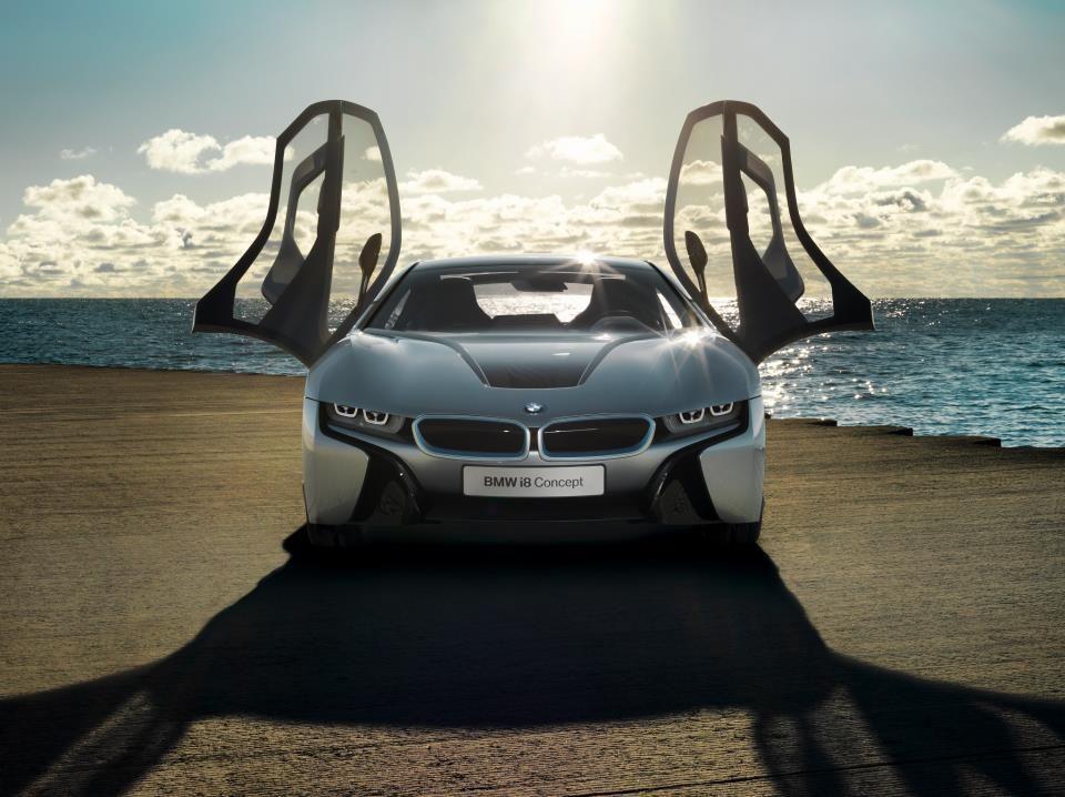BMW i8 Concept, les ailes du désir.