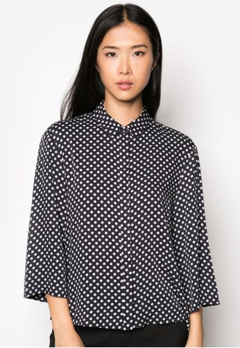 51761da6fd8903 MANGO Polka-Dot Print Shirt 波點印花恤衫