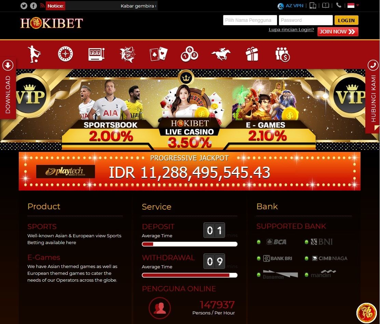 Hokibet Situs Slot Online Indonesia Slots Poker Indonesia
